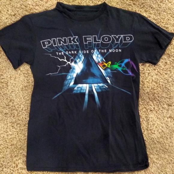 PINK FLOYD DARK SIDE OF THE MOON  MAN/'S T-SHIRT BLACK